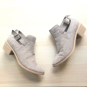 DV by Dolce Vita Tan Buckle Booties